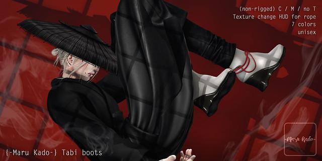 {-Maru Kado-} Tabi boots