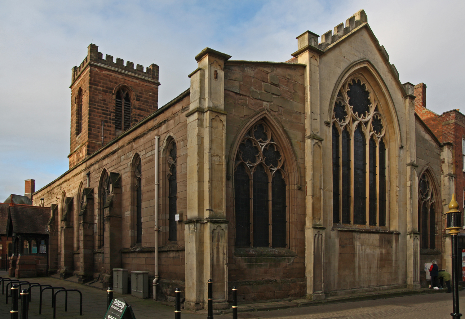 Worcestershire WORCESTER St Helen (Worcestershire Historic Churches Trust)
