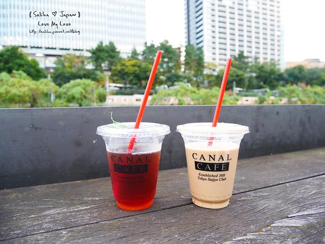 日本東京自由行賞櫻canal cafe水上餐廳 (33)