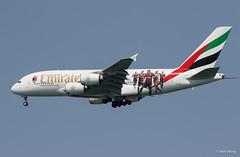 "Emirates A380-800 A6-EOG ""AC Milan"""