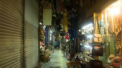 A narrow alley in Khan El-Khalili