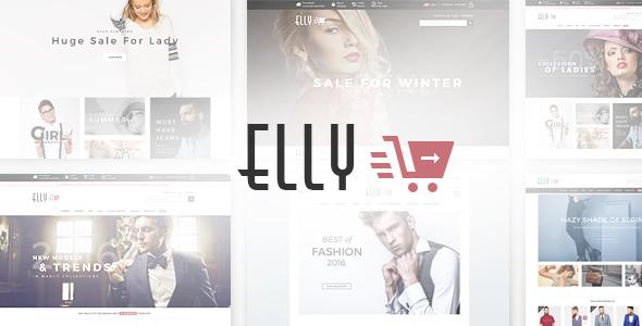 Elly v1.0 - Multipurpose Responsive Prestashop Theme