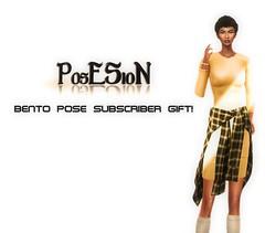 *PosESioN* Bento Pose Subscriber Gift