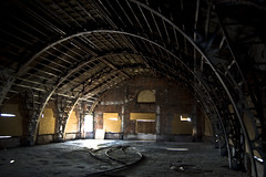 Father Divine's Lorraine Hotel (Today in Ruins)