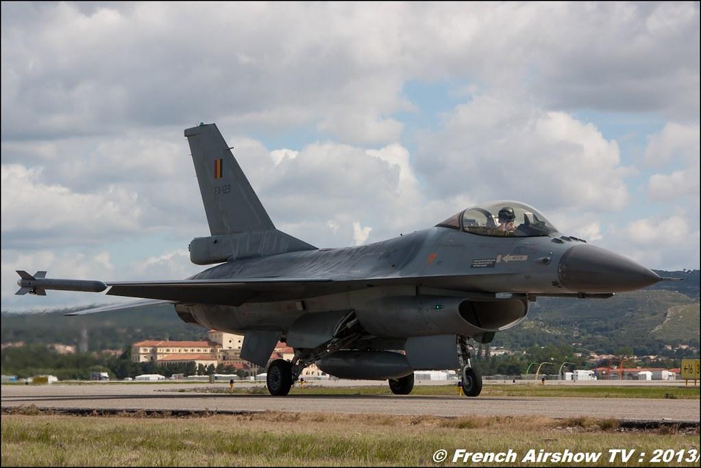 F-16 belge display au Spotter Day BA-701