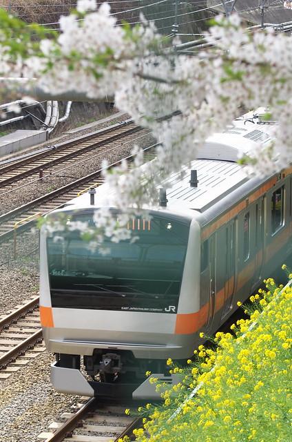 Tokyo Train Story 中央線 2014年4月5日