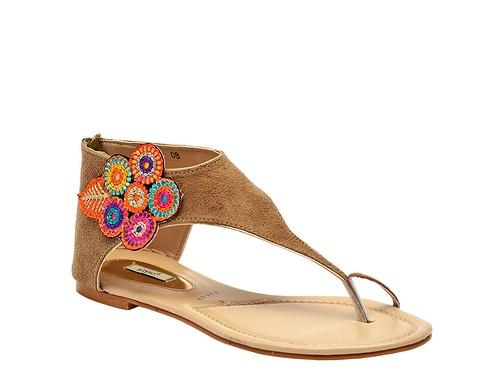 Fawn Flat Formal sandal (1)