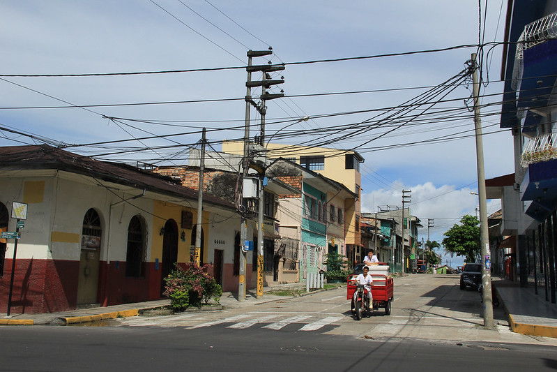 Streets of Iquitos