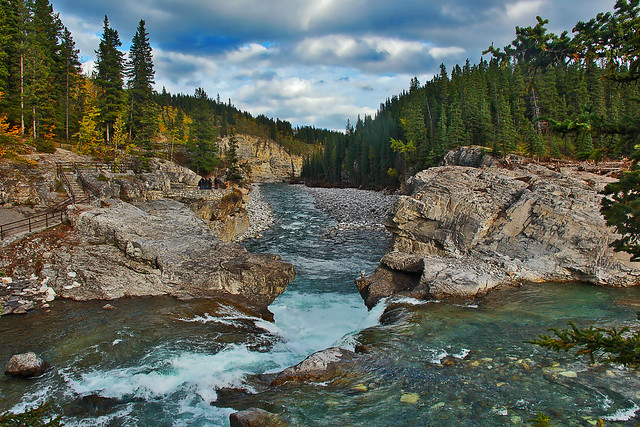 Elbow Falls in the Autumn