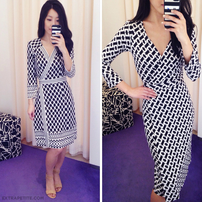 How Do Dvf Wrap Dresses Fit dvf fitting room