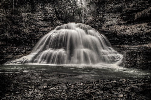 Lower Falls in Robert H. Treman State Park