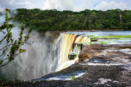 waterfall guyana kaieteur kaieteurfalls potaro highestsingledropwaterfall