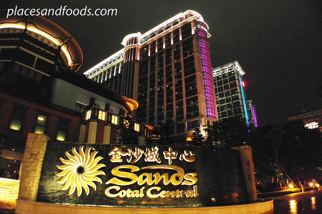 cotai strip sands night