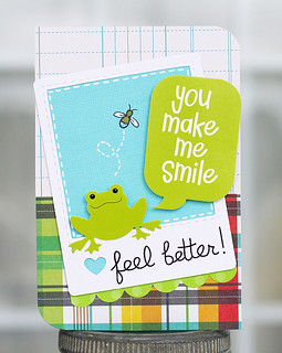 Feel Better Froggy card