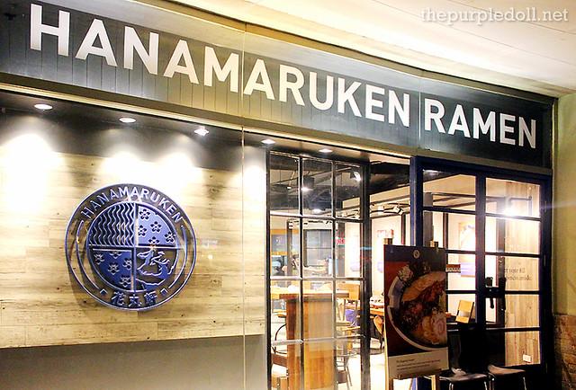 Hanamaruken Ramen in Trinoma
