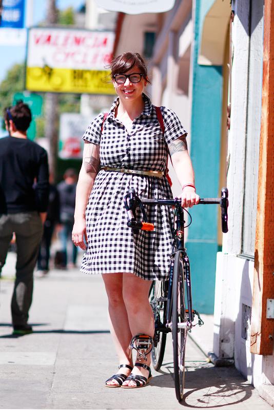 anna_valbike Quick Shots, San Francisco, street fashion, street style, Valencia Street, women