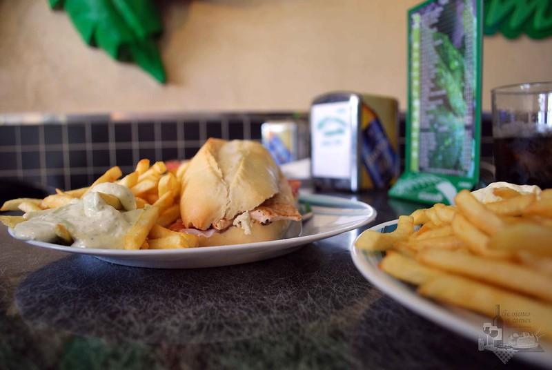 Serranitos con patatas