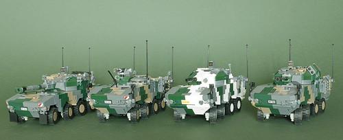Patria XA-380 medium AFV family
