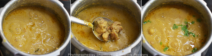 How to make chicken kurma - Step5