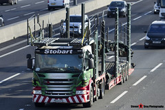 Scania P440 6x2 Car Transporter - PE13 CFO - Caronne-Lea - Eddie Stobart Automotive - M1 J10 Luton - Steven Gray - IMG_5019