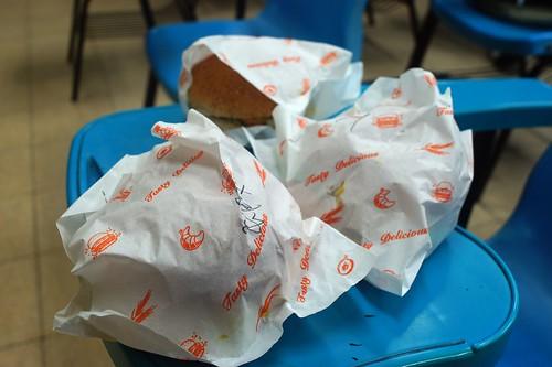 給力素漢堡試吃