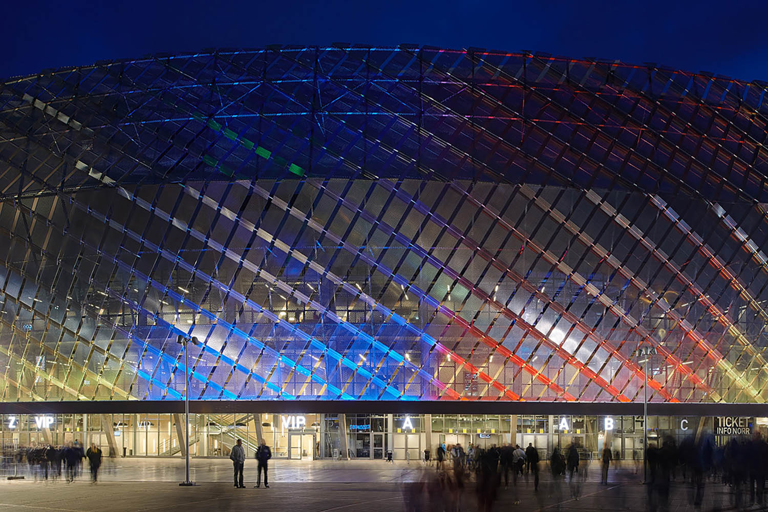 Tele2 Arena, Stockholm design by White arkitekter