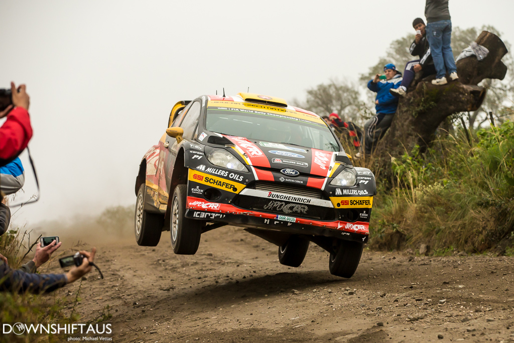 WRC competitors compete in Heat 2 of Rally Argentina on stages south of Cordoba.