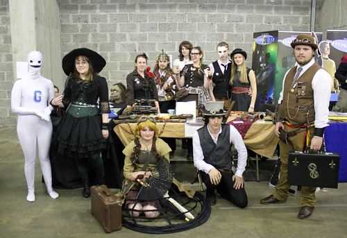 Artifakt + steampunk group shot
