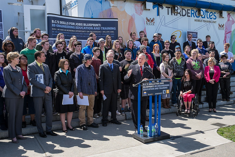B.C. launches Skills for Jobs Blueprint to re-engineer education and training