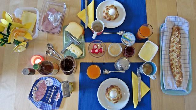 Goldengelchen Frühstück