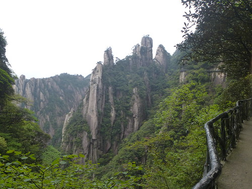 Jiangxi-Sanqing Shan- 2 sentier de l'ouest (34)