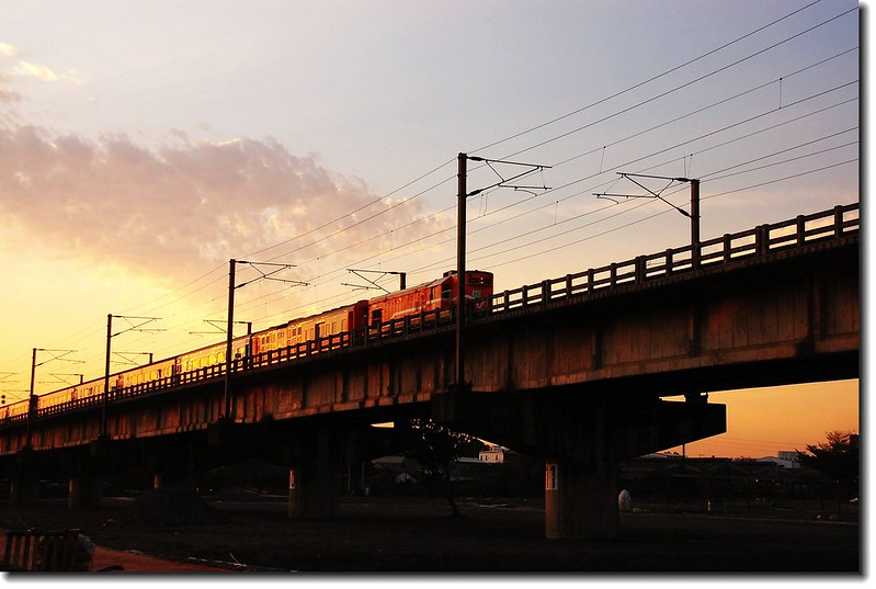 高屏舊鐵橋夕照 20