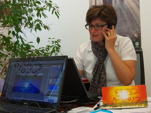 Sara Piccinini, coordinatore Ecoismi by Ylbert Durishti