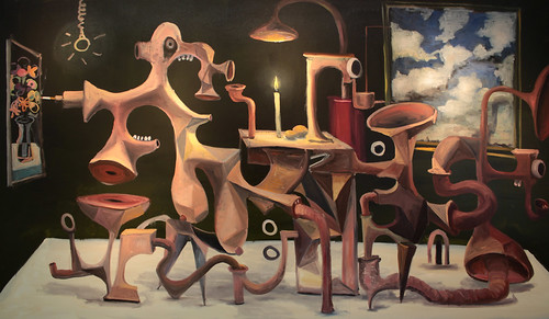 Hypertroph-kontemplative Malerei
