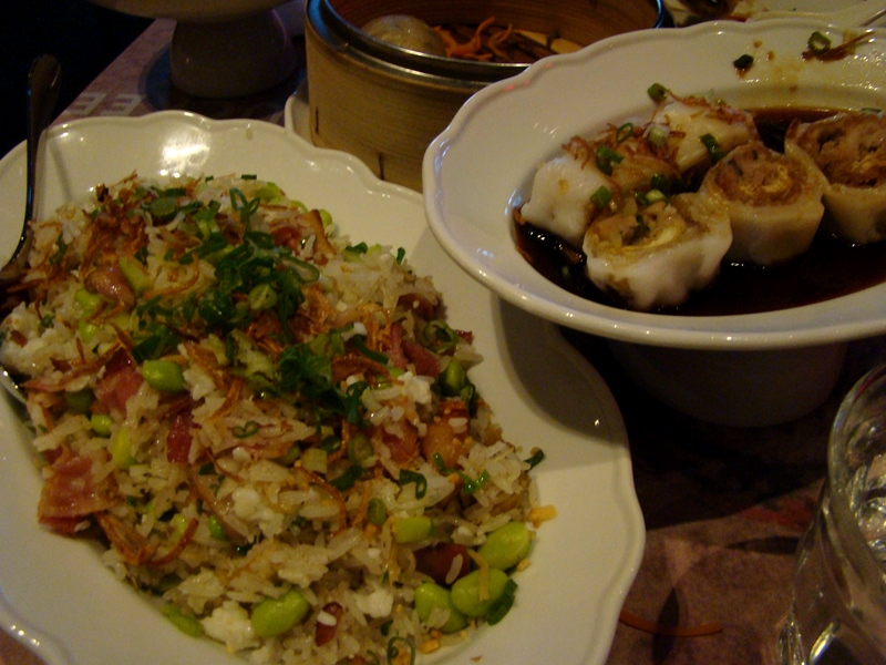 Luckee fried rice and cheung fun