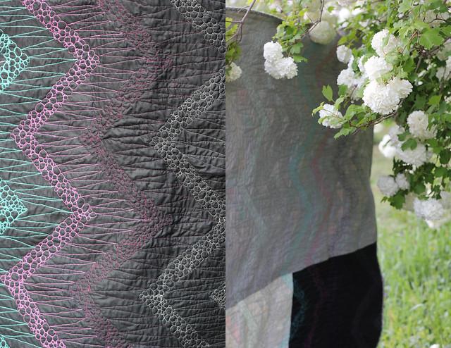 Indelible chevron quilt