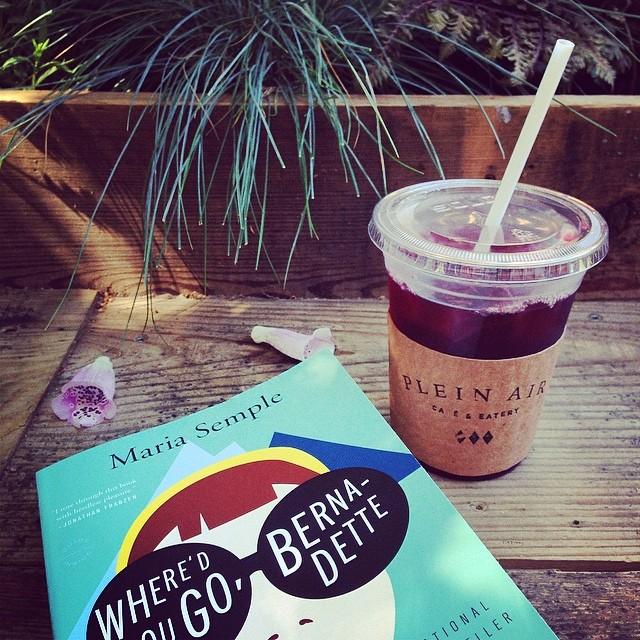 #ladiessummerbookclub reading @pleinaircafe