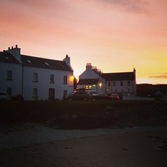 Our apartment in Port Charlotte on Islay