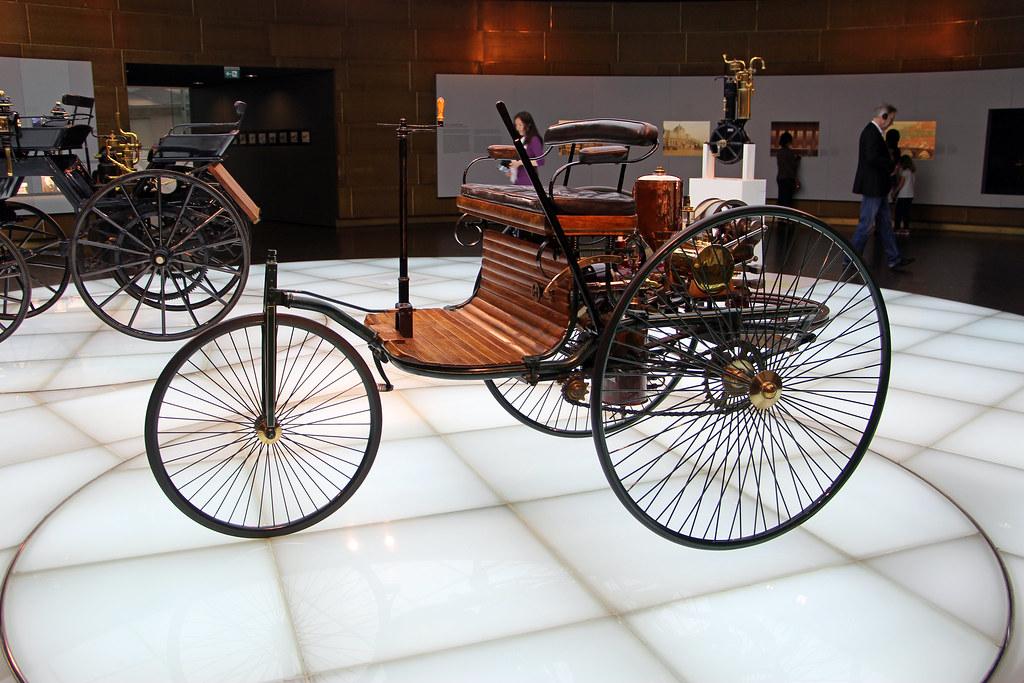 Benz Panent-Motorwagen 1886