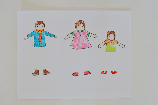 clothespin paper dolls