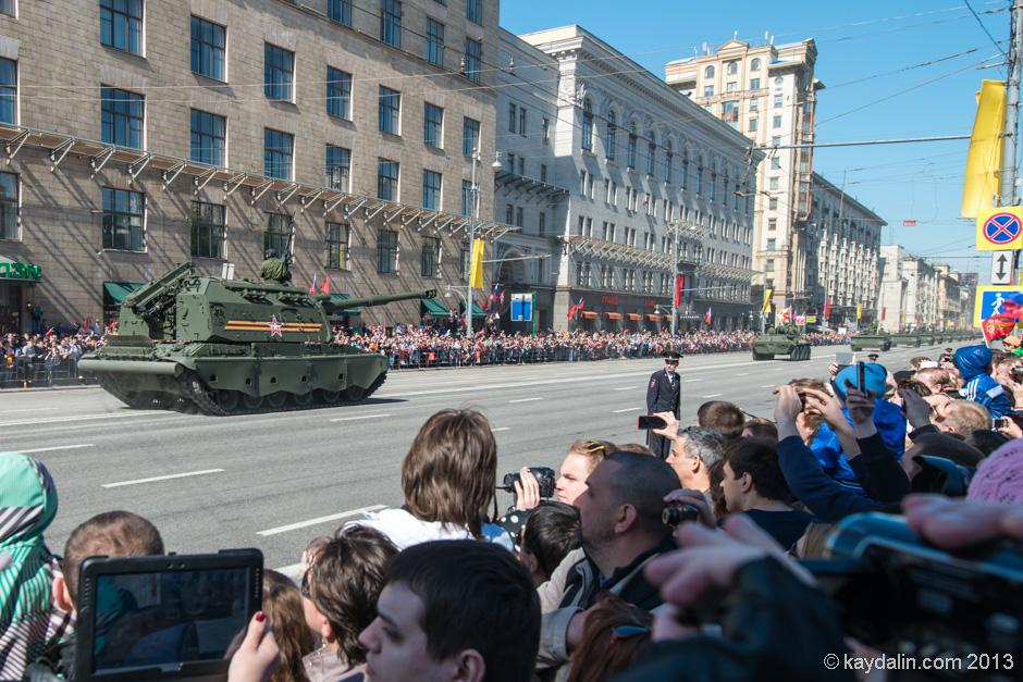 танки на тверской 9 мая