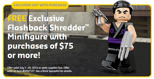 LEGO TMNT Flashback Shredder