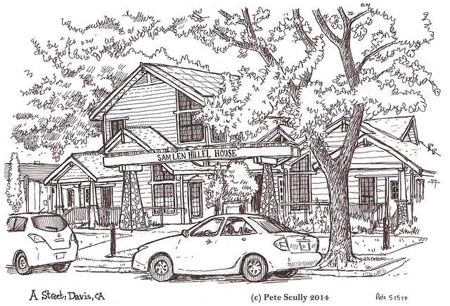 Sam Len Hillel House, Davis