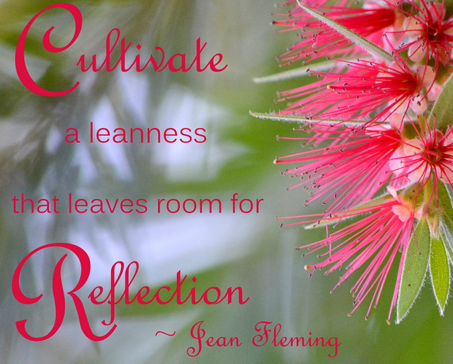 room for reflection