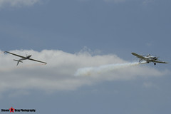 G-BDPJ - Piper PA-25-235B Pawnee & G-IIFX - Marganski MDM-1 Fox - Sywell - 130601 - Steven Gray - IMG_3471