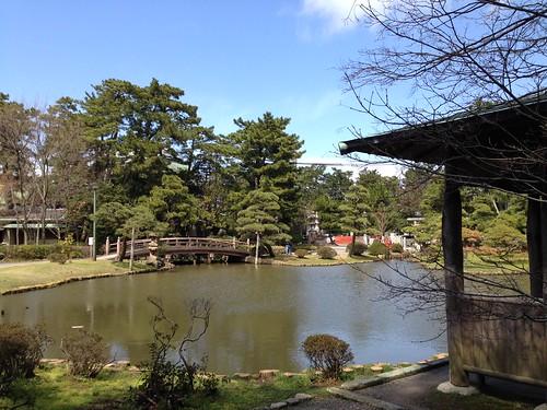 Hakusan park_pond