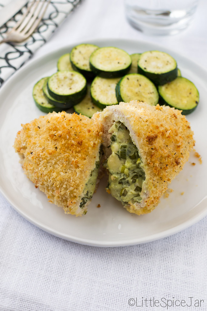 Spinach Cream Cheese Stuffed Chicken Breast