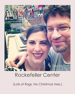 NYC Selfie Rockefeller Center