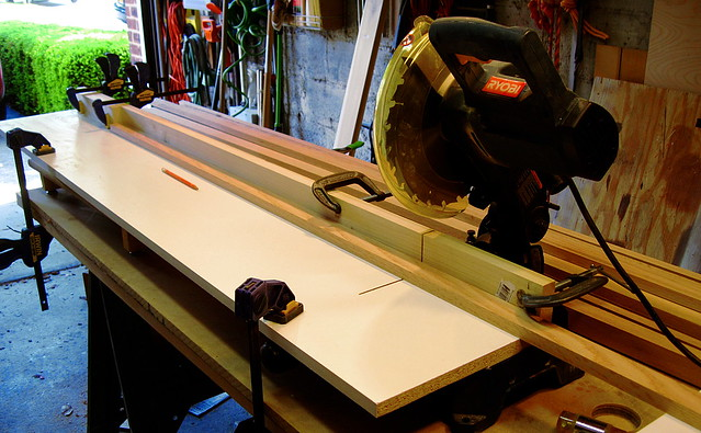 "Cutting the Leg Pieces (47"")"