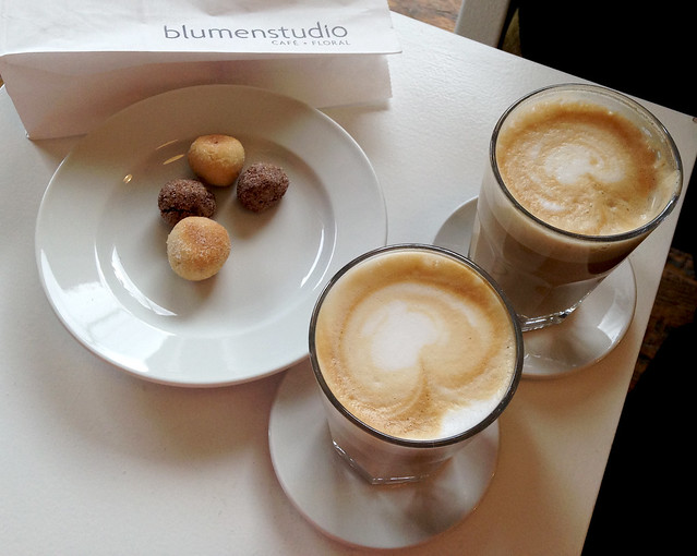 Coffee at Blumenstudio